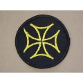 Maltese Cross Patch, Sew On