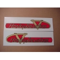 61770-55 Gas Tank Decals