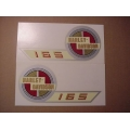 61770-57 Gas Tank Decals