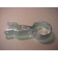 65290-57 Muffler Clamp, Chrome