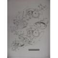 48-59MK 125 cc Complete Motor Fastener Kit